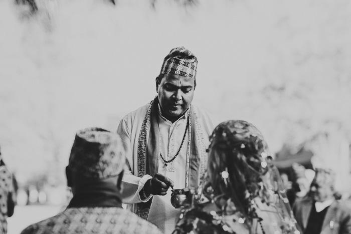 wanaka wedding traditional hindu blessing autumn lake wanaka queenstown newzealand