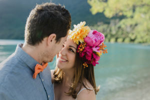 Engagement Portraits Queenstown New Zealand Couple Bobs Cove Qld Wedding Photograph