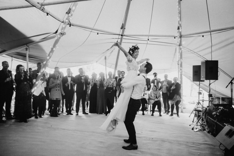 first dance big lift in tipi