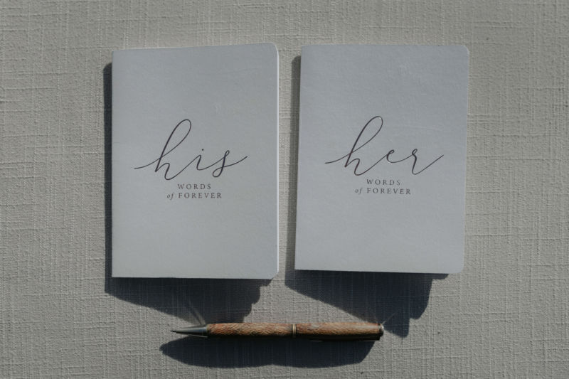 his and her vows books