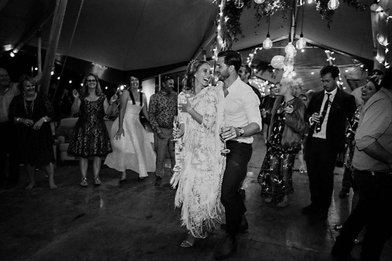 dance floor in tipi